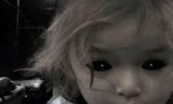 Captured a black-eyed ghost child