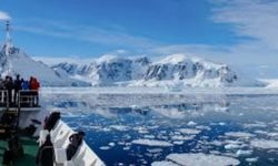 Beneath the frozen surface of Antarctica would be volcanic