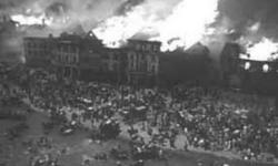 il   grande   incendio  che   devastò   la  città   di Chicago  1871
